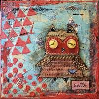 Hello Owl Fine Art Print