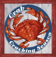 Fresh Crab Sign 1 Fine Art Print