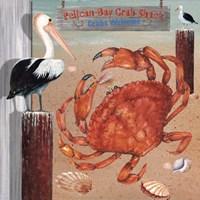 Pelican Beach Fine Art Print