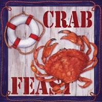 Crab Feast Sign 2 Fine Art Print
