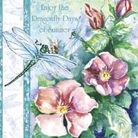 Dragonfly Days Fine Art Print
