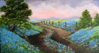 Texas Bluebonnets Fine Art Print