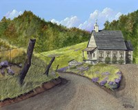 Bryan Mountain Presbyterian Fine Art Print