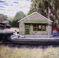 Redan Post Office Fine Art Print