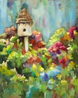 Spring Birdhouse Fine Art Print