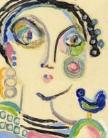Bluebird on My Shoulder Fine Art Print