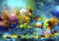 Coral Reef Emerald Fine Art Print