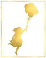Balloon Run Fine Art Print