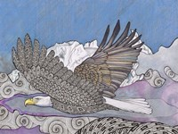 Flight Of The Eagle Fine Art Print
