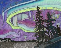 The Northern Lights Fine Art Print