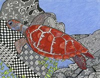 The Sea Turtle Fine Art Print
