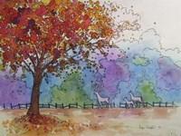 Autumn Fire Fine Art Print