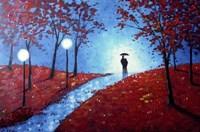 Autumn Night Fine Art Print
