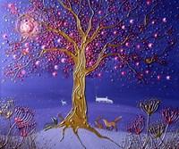 Blood Moon Magic Fine Art Print