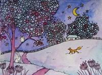 Curious Fox Fine Art Print