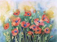 Dancing Poppies Fine Art Print