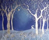 Enchanted Winter Night Fine Art Print