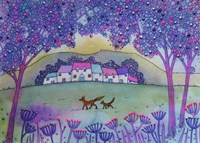 Fox And Cub Fine Art Print