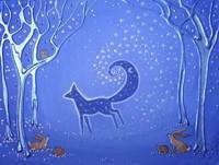 Fox Spirit Bringer Of Night Fine Art Print