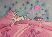 Hare And Tor Fine Art Print