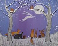 Moon Hare Fine Art Print