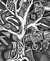 The Tree of Music Fine Art Print