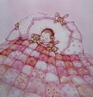 Baby Girl Fine Art Print