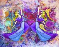 Lady Dance Fine Art Print