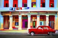 Red Car Fine Art Print
