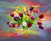Colorful Flowers Fine Art Print