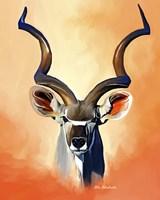 Antelope Head Fine Art Print