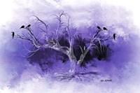 Dead Tree And Black Birds Fine Art Print