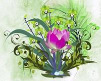 Flowers Design 3 Fine Art Print