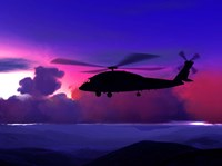 Helicopter Fine Art Print