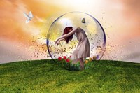 In the bubble Fine Art Print