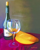 Wine Bread Fine Art Print