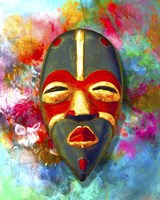 Mask 2 Fine Art Print