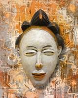 Mask 4 Fine Art Print