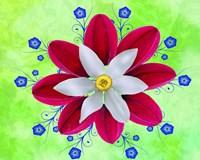 Floral Design P Fine Art Print