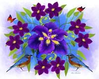 Floral Design R Fine Art Print