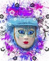 Colorful Mask Fine Art Print