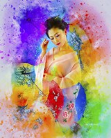 Lady in Color Fine Art Print