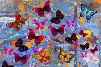 Butterflies Season Fine Art Print