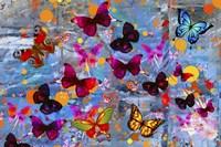 Butterflies Season Fine Art Print