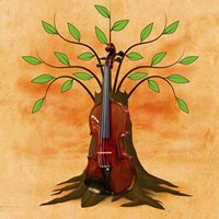 Music Tree Fine Art Print