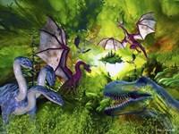 Dinosaur Land Fine Art Print