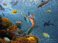 Mermaid Time Fine Art Print