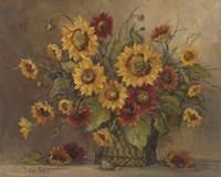 Sunflower Bouquet Fine Art Print