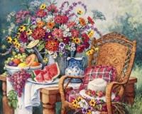 A Summers Picnic Fine Art Print