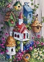 Birdhouse Cottage Fine Art Print